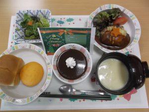 クリスマス 昼食
